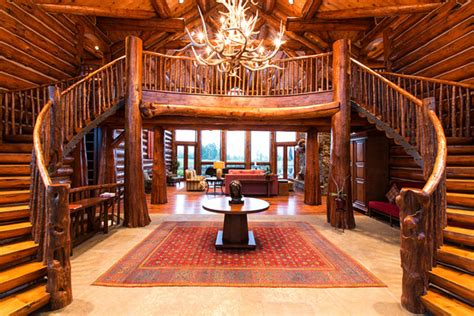 Cabin Chandelier Show Called Epic Log Homes Pro Construction Forum Be