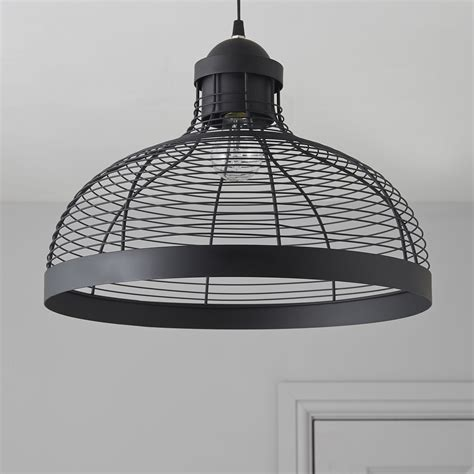 baici wire black pendant ceiling light departments diy