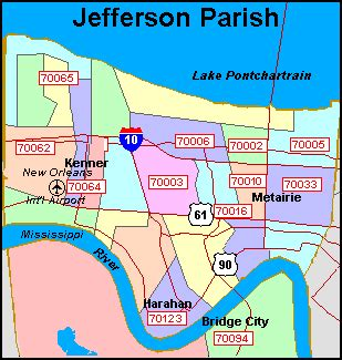 jefferson louisiana map ilalocalflorist your directory for local