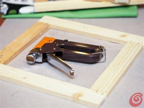 come fare una cornice per un quadro il quadro con il tessuto dell ikea casa e trend