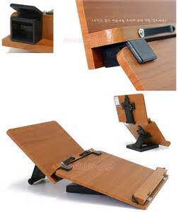 double book stand reading desk portable bookmark holder