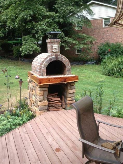 steinofen bauen pizzaofen bauen anleitung und fotos diy garten haus