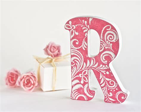 Letter Decoration Wall Decor Letters For Nursery Homes Decoration Tips