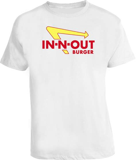 Burger Tshirt in and out burgers in n out t shirt
