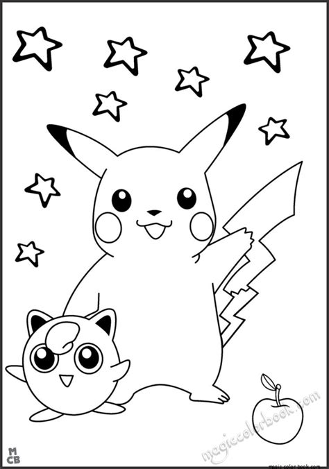 pokemon pikachu coloring pages free pok 233 mon pikachu coloring pages free