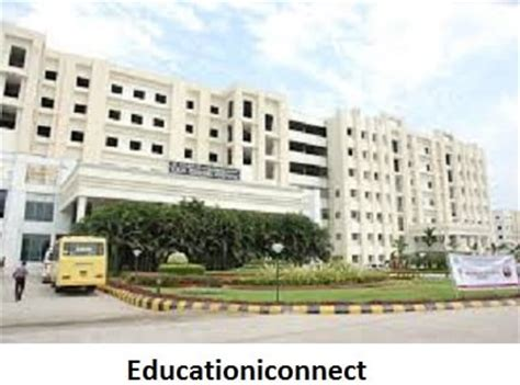 Srm Mba Fees 2017 by Srm Institute Of Science And Technology Fee Structure 2018