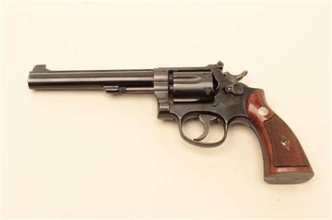 k d smith auctions smith wesson model k 38 masterpiece early 4 screw double