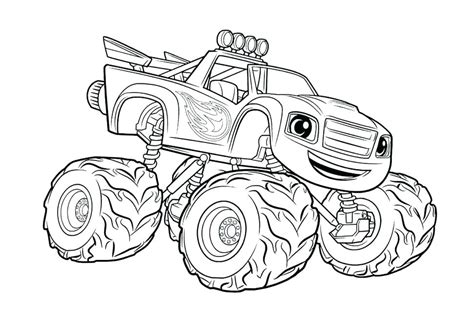 mud truck coloring pages  getcoloringscom