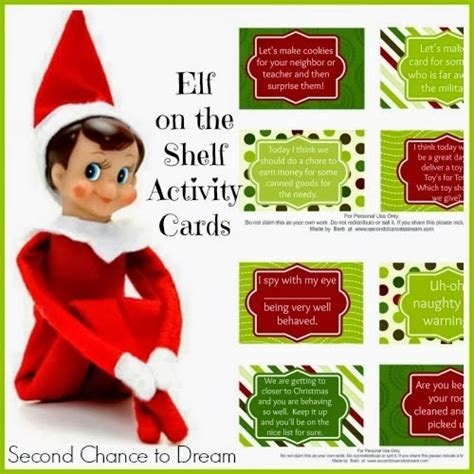 Free Elf Gift Card - elf on the shelf cards with a twist printable multi testing mommy