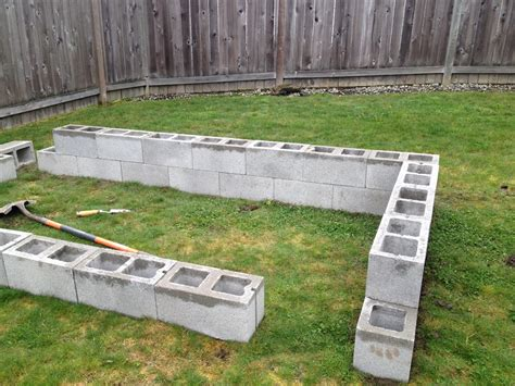 cinder block raised bed cinder block raised garden bed