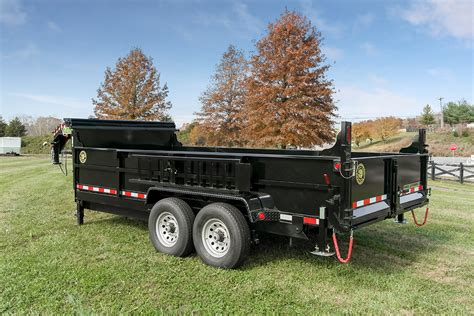 light duty gooseneck trailer heavy duty professional grade gooseneck dump trailers