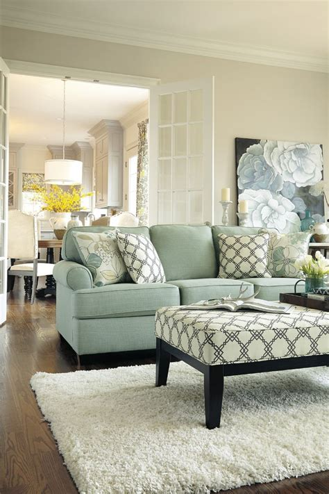 Blue Chair Living Room Design Ideas Living Room Decorations