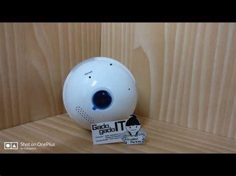 Diskon Cctv Panoramic 360 Wifi Globe bulb smart security ip kamera cctv ir globe
