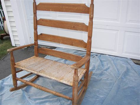 Loveseat Rocking Chair ladder back settee loveseat rocking chair collectors weekly