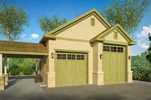 car garage plan left elevation with shop motorhome floor well house plans
