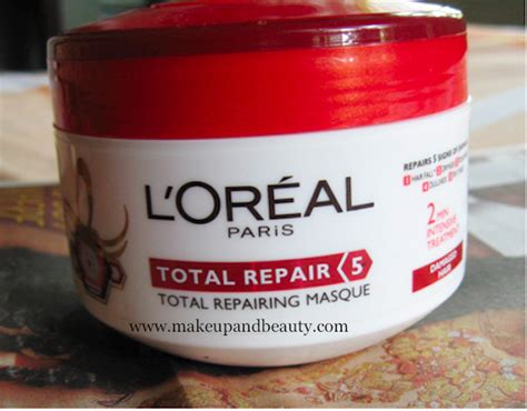 Loreal Hair Mask hair mask loreal total repair 5 hair masque review