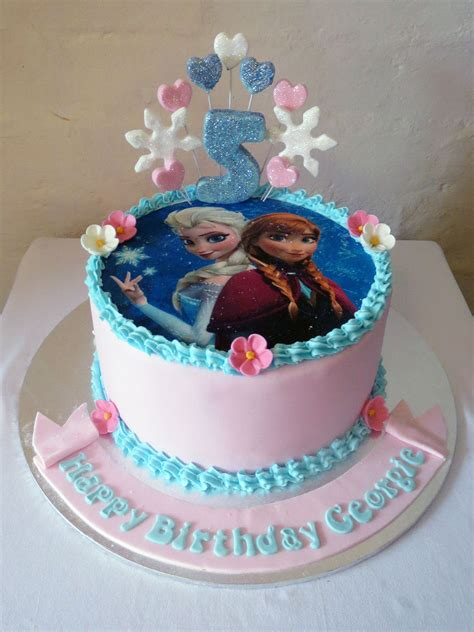 themed birthday cakes frozen themed birthday cake three sweeties