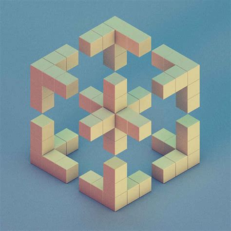 geometric pattern exles 30 brilliant exles of geometric designs cube 3d and face