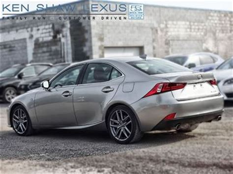 lexus is 250 2014 lexus is 250 f sport prem nav toronto
