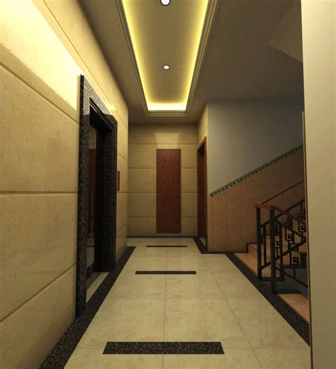 corridor lighting corridor with elegant lighting 3d model max cgtrader com