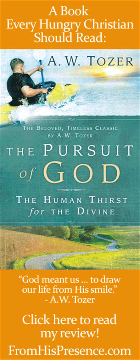 the pursuit of god new christian classics library books every christian should read the pursuit of god by aw tozer