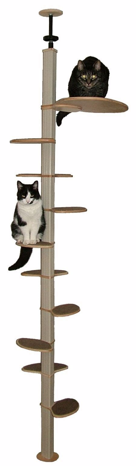 10 foot floor to ceiling cat tree the world s catalog of ideas
