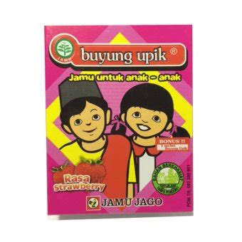 Buyung Upik Rasa Strawberry jamu jago buyung upik rasa strawberry isi 10 lazada