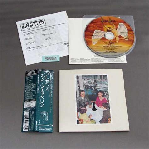 Cd Led Zeppelin Presence Obi led zeppelin presence used japan mini lp shm cd beat net records
