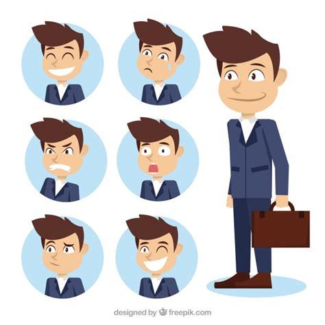 asortyment charakter biznesmen  fantastycznymi wyraziste