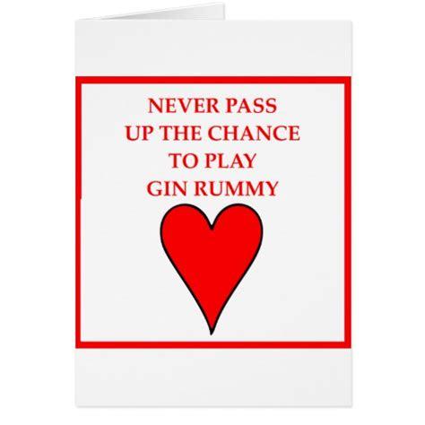 gin rummy card zazzle