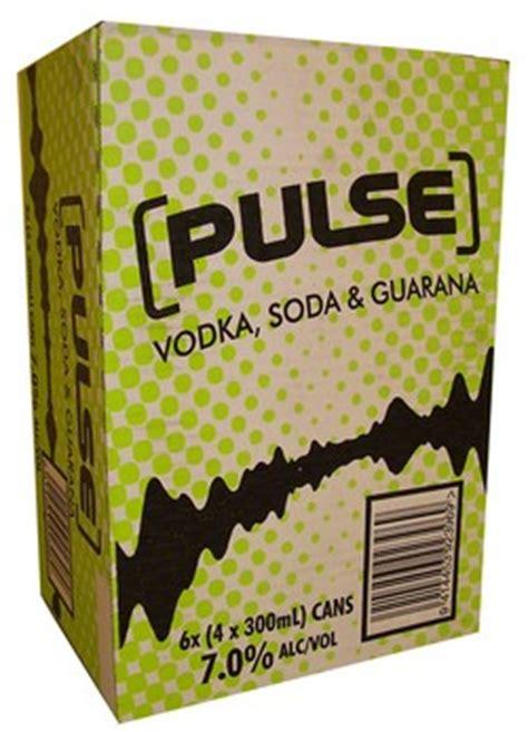 pulse green vodka soda  guarana reviews