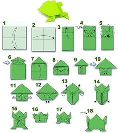 how to make an easy origami frog 1000 images about origami on origami frog