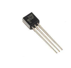 transistor bc 547 c 011 100pcs bc547 to 92 npn 45v 0 1a transistor new ebay