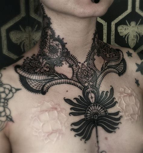 lace design tattoos 50 remarkable lace designs
