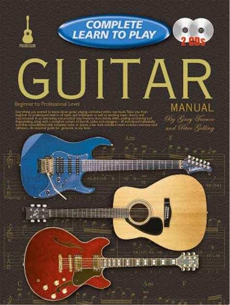 Learn Guitar Yourself | progressive complete learn to play guitar manual