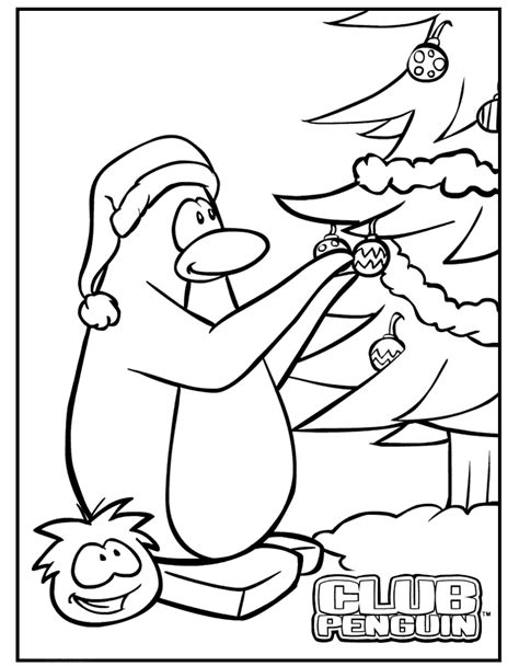 club penguin coloring pages az coloring pages
