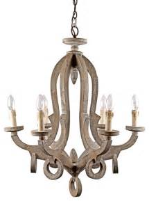 ylighting chandelier antique style wooden pendant with candle lights