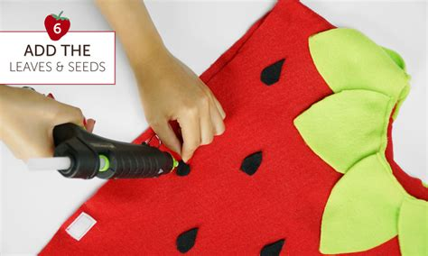 strawberries for dogs diy strawberry costume in 6 easy steps