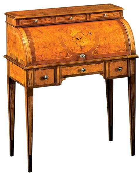 Formal Desk by Desk David Michael Formal Furniture Roll Top Traditional Desks And Hutches By Euroluxhome