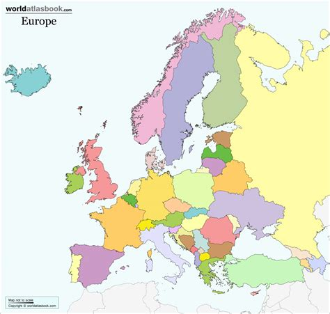 unlabeled map of europe grahamdennis me
