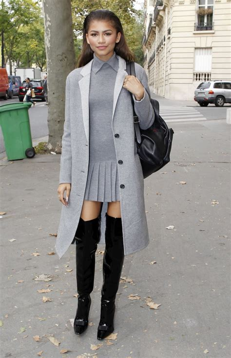 zendaya coleman style 2015 zendaya street fashion out in paris october 2015 5 jpg