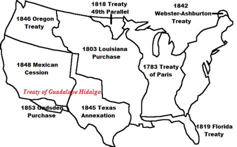 Outline The Non Territorial Terms Of The Treaty Of Versailles by Treaty Of Guadalupe Hidalgo For