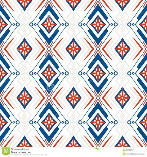 motif to pattern geometric pattern with scandinavian ethnic motifs stock