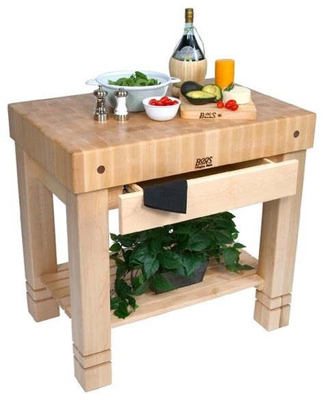 john boos cucina rustica maple kitchen island john boos maple homestead block 36 quot x 24 quot natural maple