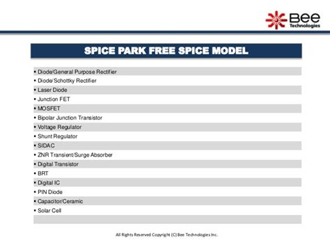 diodes inc spice diodes inc spice 28 images spice park provide free spice model of diode 05jul2011 free