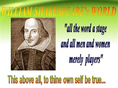 ppt on william shakespeare authorstream