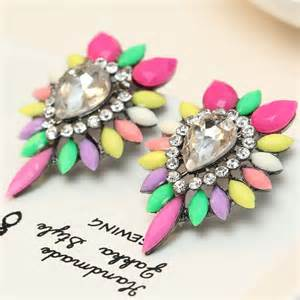 colorful earrings s fashion big colorful earrings new arrival brand