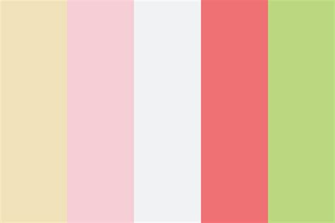 cake colors strawberry cake color palette