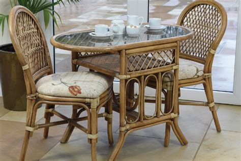 Round Table Pads For Dining Room Tables bistro cane dining furniture daro cane furniture rattan