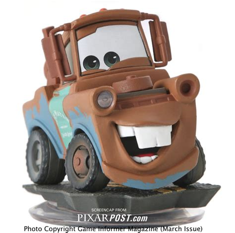 cars characters mater disney infinity cars characters revealed pixar post